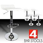 2 новых Современных поворотных барных стула (цвет белый)