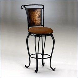 Поворотный барный стул-сиденье Медный Hillsdale Милан