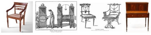 Стиль мебели Шератон ( Sheraton )