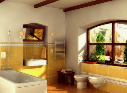 Дизайн ванной комнаты в стиле прованс - Ванная комната дизайн фото фото