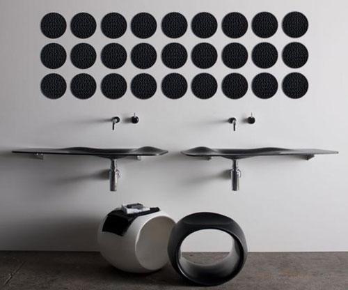 Необычный дизайн умывальников - Ванная комната дизайн фото фото