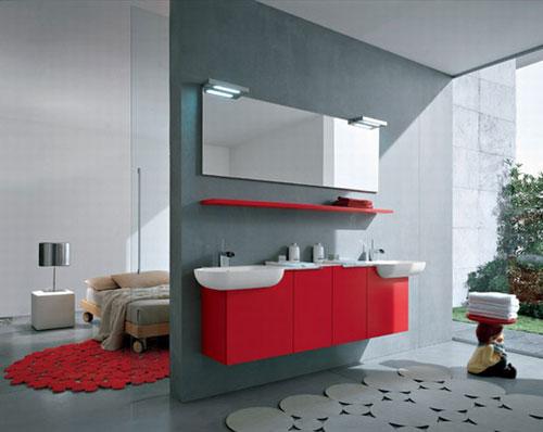 Ванная комнта совмещённая с жилой - Ванная комната дизайн фото фото