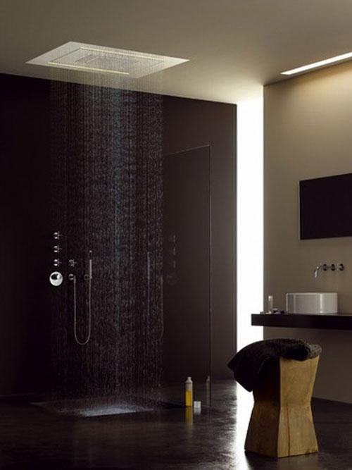 Бежевый дизайн небольшой ванной комнаты - Ванная комната дизайн фото фото