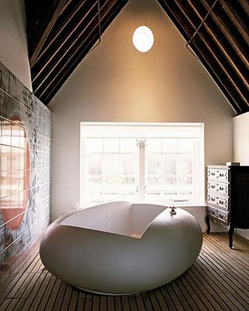Необычная готическая ванная комната - Ванная комната дизайн фото фото