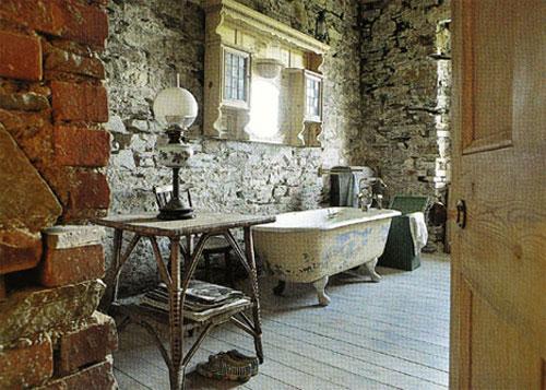 Ретродизайн ванной комнаты - Ванная комната дизайн фото фото