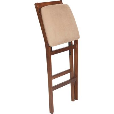 Складной 30 дюймовый барный стул (дерево) - Разное фото