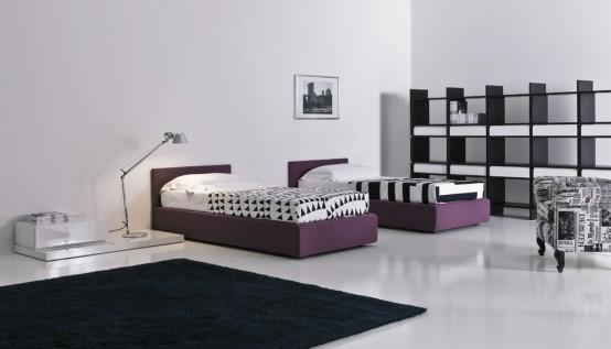 Современный модерн комнаты для подростка - Дизайн комнаты для подростка, мебель фото фото