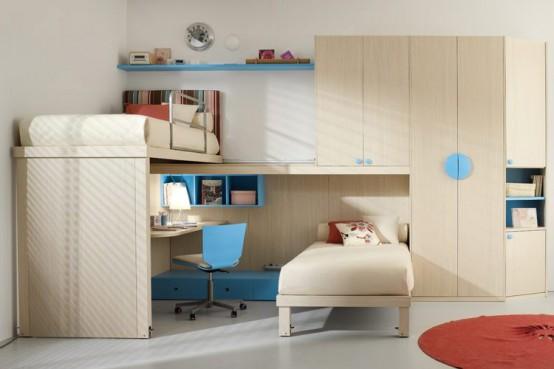 Важными элементами детской комнаты являются комплекты шкафов - Разное фото