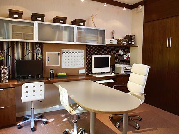 Современный домашний офис - Мебель для кабинета фото