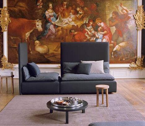 Дизайнерская мебель от e15 - новая софа Shiraz - Мягкая мебель фото