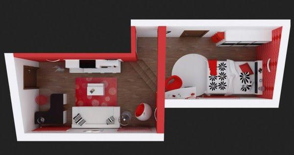 Дизайн небольшой гостиной - Как выбрать цветовую схему для гостиных - Разное фото
