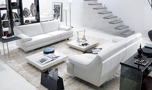 Небольшая гостиная в ультрасовременном стиле - Гостиные - дизайн и мебель фото
