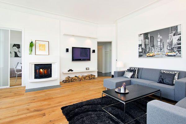 Ультра современная гостиная в стиле техно - Гостиные - дизайн и мебель фото