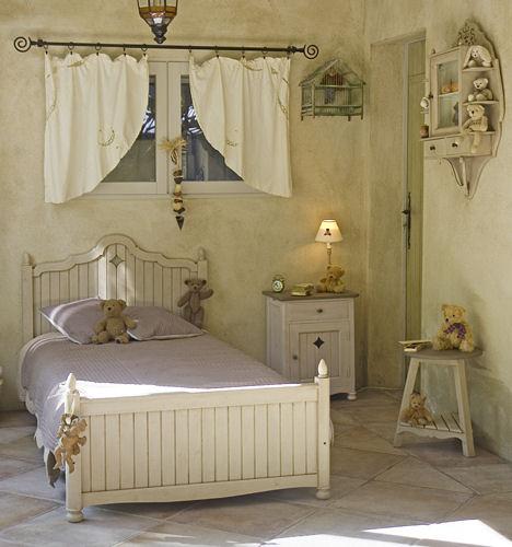 """Детские спальни мебель Matin d'Ete (""""Утро лето"""") - французская кровать стиле кантри - Мебель для детской комнаты фото"""