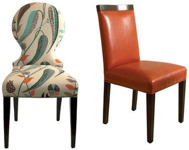 Современные обеденные стулья от Dining Chair Company - Кресла, полукресла, стулья фото
