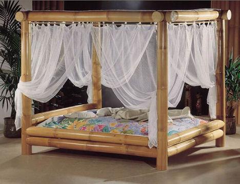 Кровать из бамбука от High Touch - Мягкая мебель фото