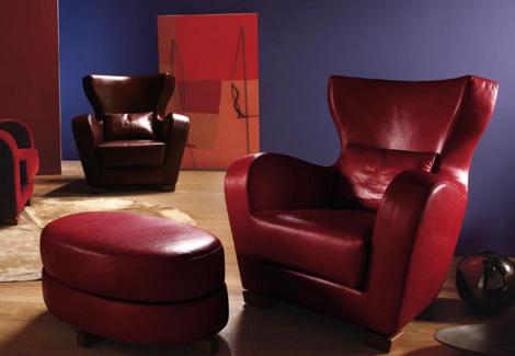 Дема Quota Мебель: кресло в стиле Османской империи в коже - Разное фото