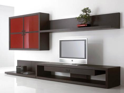 Yomei развлечения стенки с плоским телевизором и шкафами для хранения вещей - Разное фото