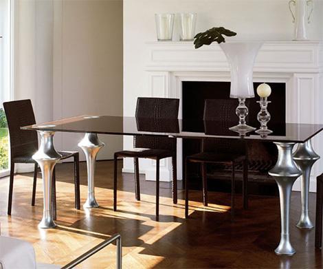 Дизайн Colico - стол Artu в серебре - Разное фото