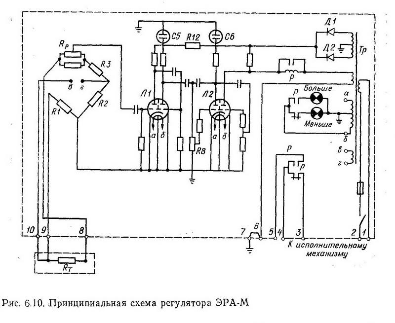 Схема регулятора ЭРА-М - Разное фото