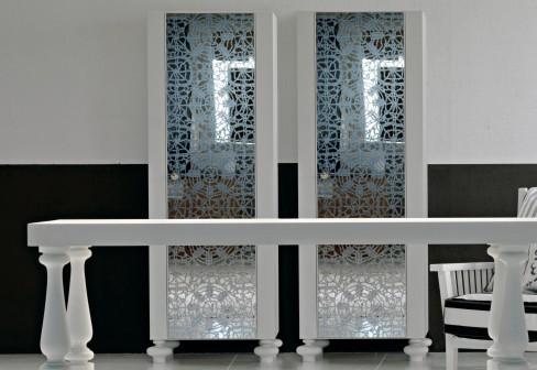 Шёлковое зеркало-трафарет от Gervasoni для любой комнаты - Разное фото