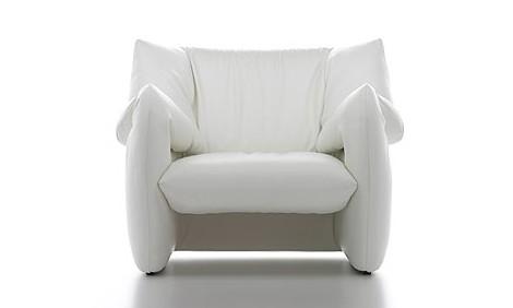 Современное Кожаное Кресло - дизайнерский стул Tokujin Yoshioka - Мягкая мебель фото