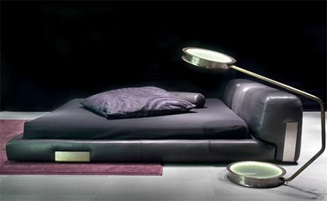 Скромная кожаная кровать от Ceccotti Collezioni (Чеккотти Коллецьони) - кровать DC - Разное фото
