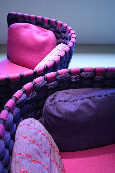 Итальянская Повседневная Мебель от Паола Ленти (Paola Lenti) - новые линии мебели Эми (Ami) и Ваби (Wabi) - Разное фото
