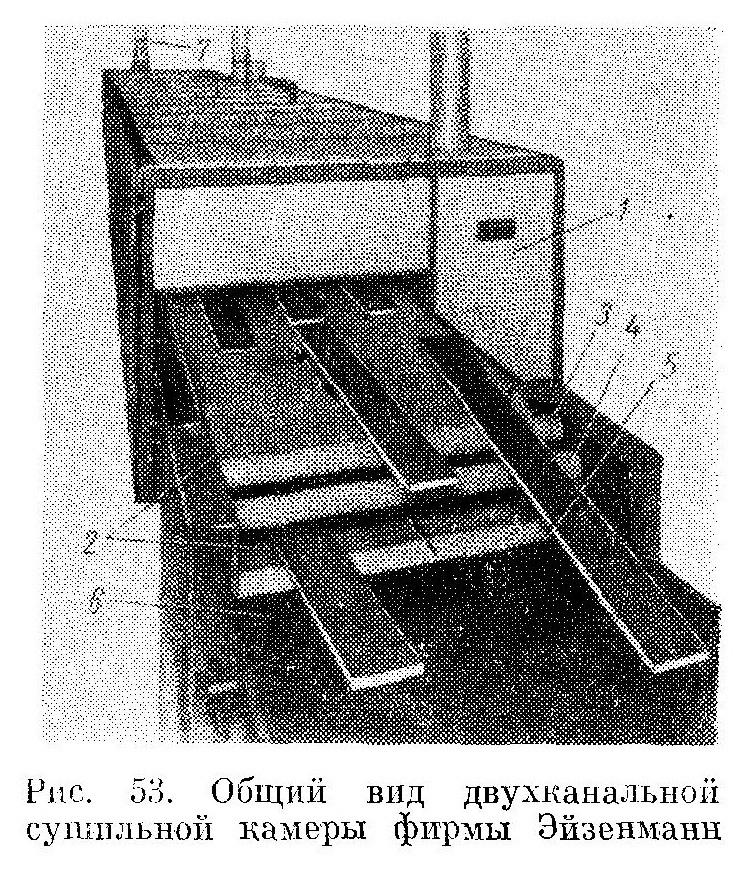 Двухканальная сушильная установка, выпускаемые западногерманской фирмой Эйзенманн - Разное фото