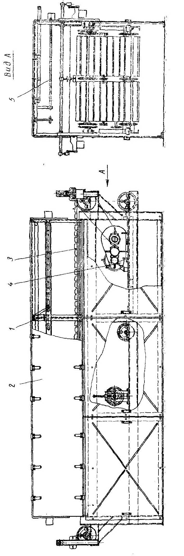 Камера УП предварительного подогрева щитовых деталей (проект Гипродревпрома) - Разное фото