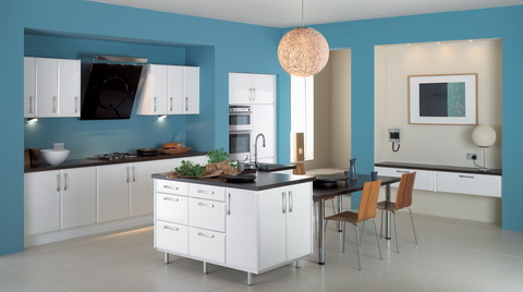 Бесконечные импровизации стиля «модерн» в созидании кухонного интерьера - Разное фото