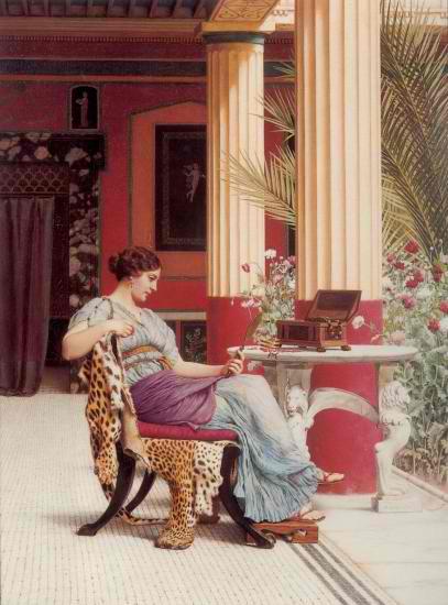 Мебель в Древнем Риме - Разное фото