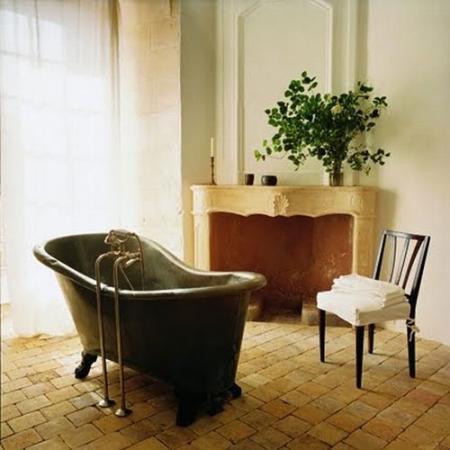 Ретро ванная комната - Ванная комната дизайн фото фото
