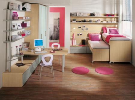 Идеи дизайна мебели для детской комнаты - Мебель для детской комнаты фото