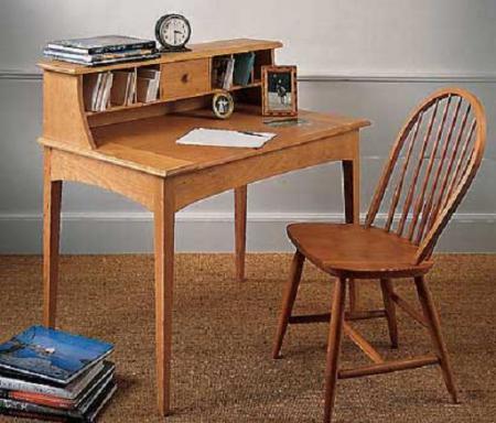 Письменный столик для кабинета в старинном виде - Мебель для кабинета фото