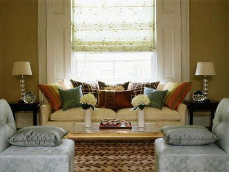 Современная многофункциональная гостиная фото - Разное фото