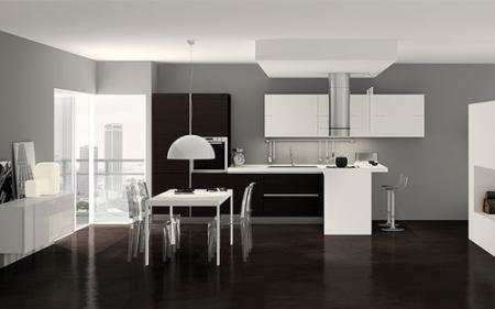 Ультрасовременная кухня в ультрастиле - Интерьер кухни (кухонная мебель) фото