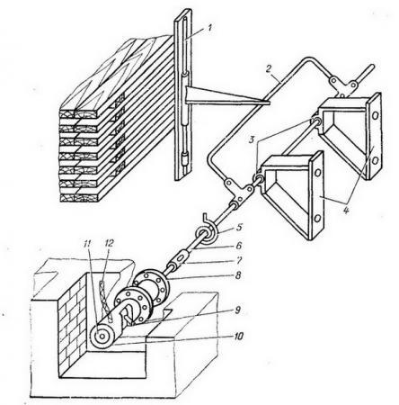 Схема измерителя усадки - Разное фото