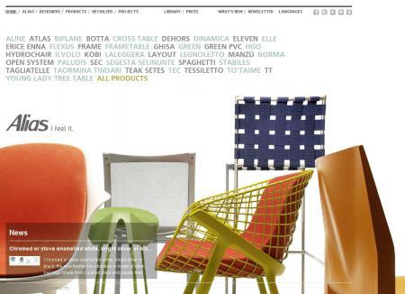 """Фото для """"Alias - итальянская фабрика мебели – бытовая и офисная мебель"""""""