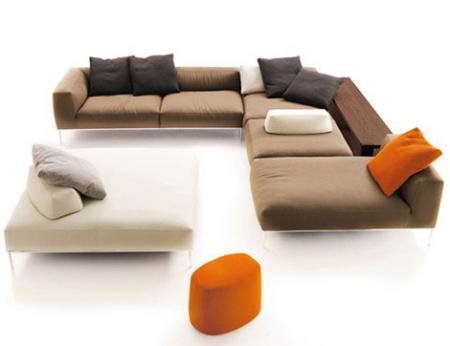 Модульные Диваны от B&B Italia  - новый секционный диван Frank Antonio Citterio - Мягкая мебель фото
