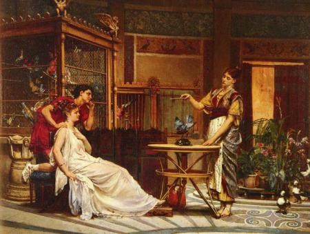 Мебель в Древнем Риме