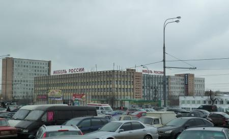 Крупные мебельные центры Москвы - ТЦ Мебель России, фото: © www.mebelcompass.ru